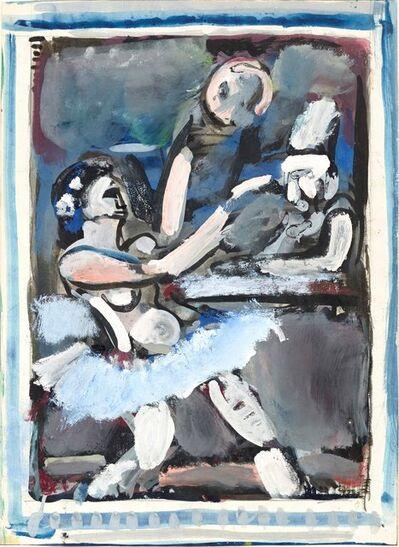 Georges Rouault, 'Scène de cirque, écuyère et clown', 1925-1930