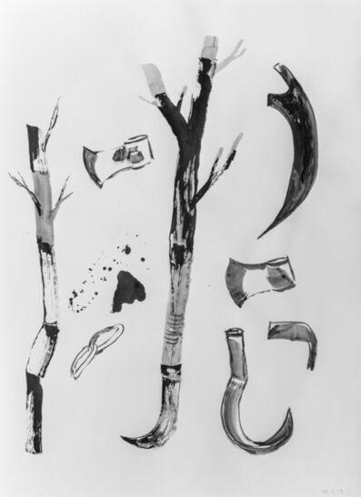 Marcelo Viquez, 'Sin título (Nuestras armas no hacen daño)', 2019