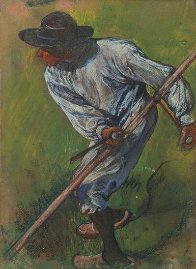 Jacobus van Looy, 'Mower', ca. 1898
