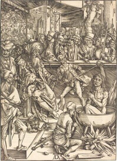 Albrecht Dürer, 'The Martyrdom of Saint John', probably c. 1496/1498