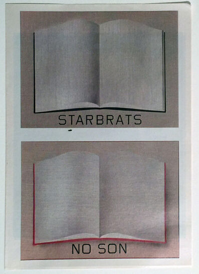 Ed Ruscha, 'STARBRATS, NO SON', 2005