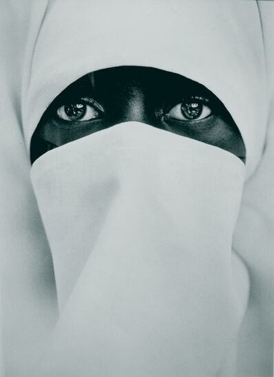 Chester Higgins, Jr., 'A Young Muslim Woman, Brooklyn', 1990