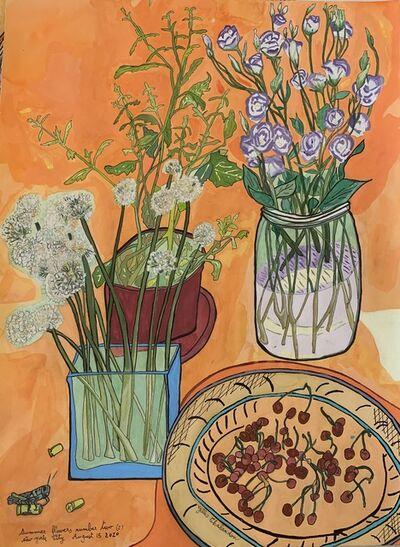 Gilles Andre Chalandon, 'Summer Flowers #2', 2020