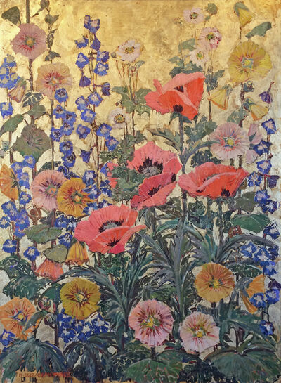 Mary Elizabeth Price, 'Hollyhock and Oriental Poppy', ca. 1930s