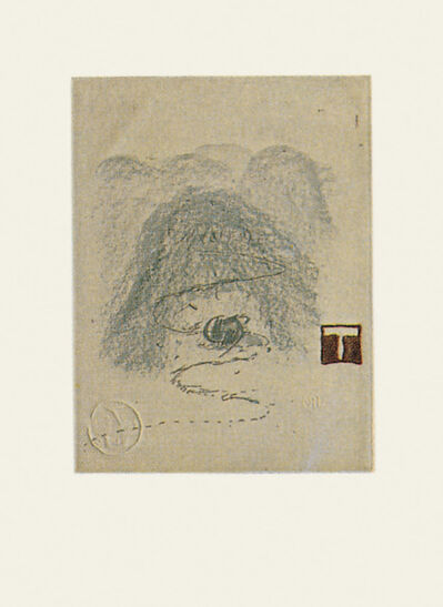 Antoni Tàpies, 'Aparicions 3', 1982