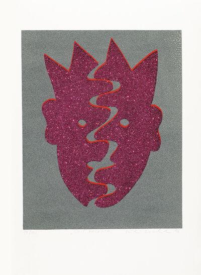 """Kiki Kogelnik, '""""Split Magenta""""', 1996"""