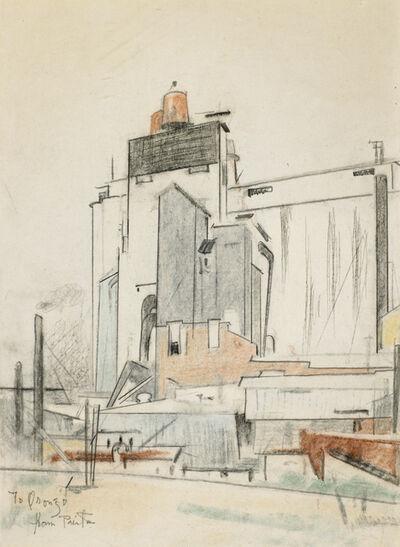 Preston Dickinson, 'Grain Elevators', 1924