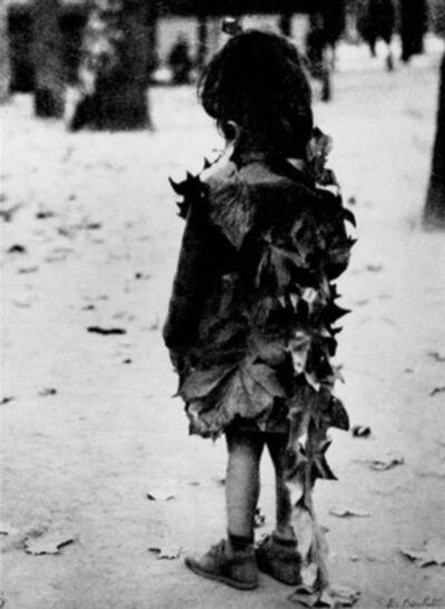 Edouard Boubat, 'La petite fille aux Feuilles Mortes, Jardin de Luxembourg, Paris', 1948