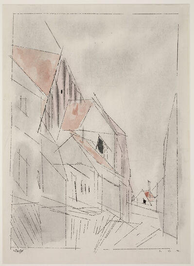 Lyonel Feininger, 'The Choir', 1946