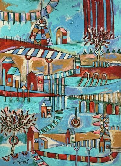 Jorge Vidals, 'Campos de color - Color fields', 2019