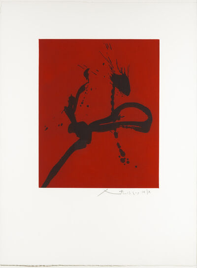 Robert Motherwell, 'Gesture IV', 1976-1977