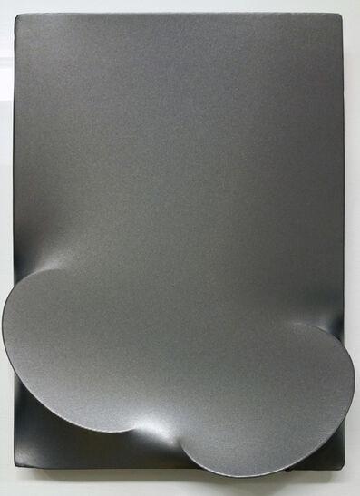 Turi Simeti, 'Due ovali metallizzati', 2009