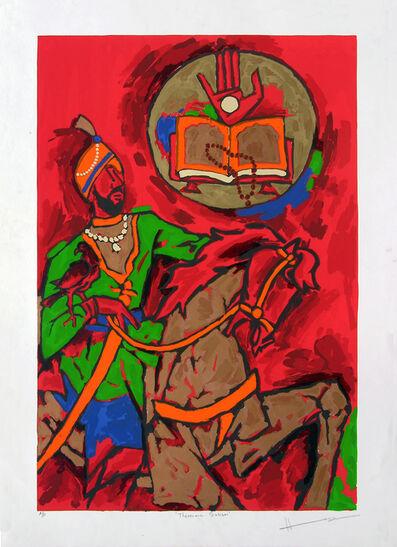 M. F. Husain, 'Sikhism Theorama', 2003