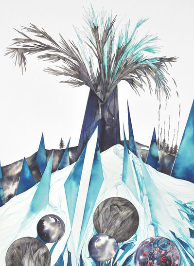 Philippa Jones, 'Frozen Eruption', 2015
