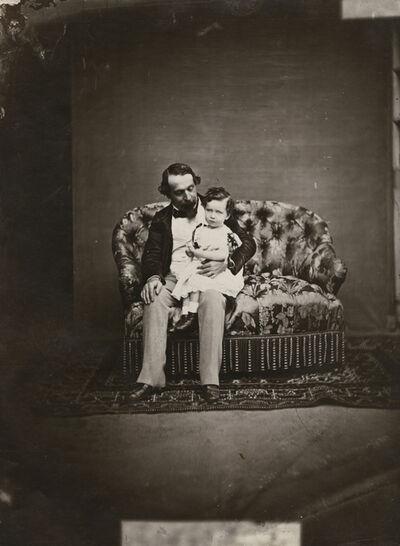 Pierre-Louis Pierson, 'Emperor Napoleon III and His Son, the Prince Imperial Napoleon Eugene', 1859-61/1930c