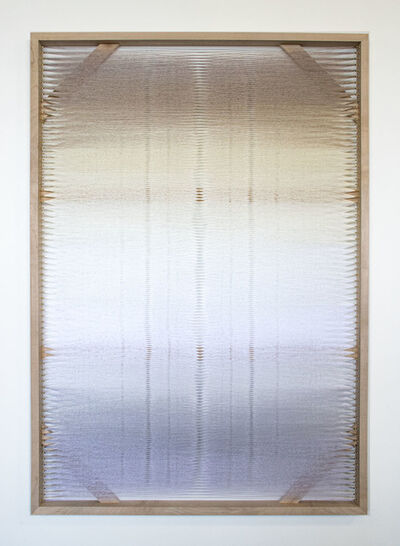 Rachel Mica Weiss, 'Woven Screen (White Gradient II)', 2019