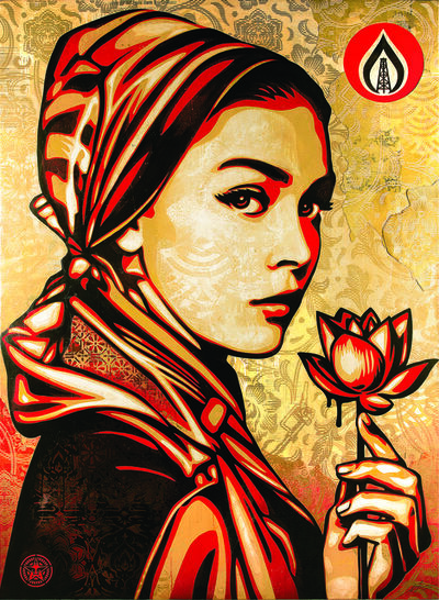 Shepard Fairey, 'Natural Springs'