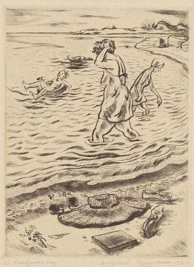 Peggy Bacon, 'O Frabjous Day!', 1952