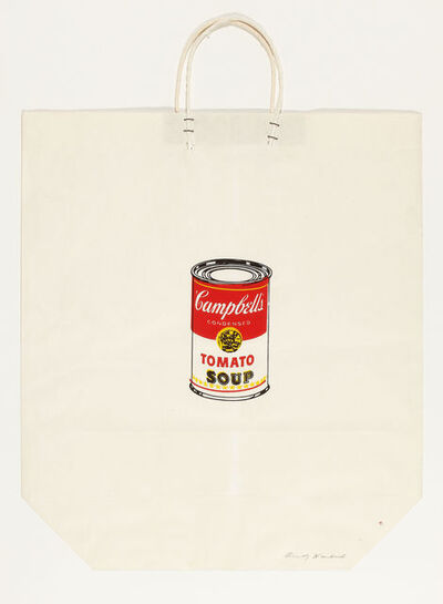 Andy Warhol, 'Campbell's Soup Can on Shopping Bag', 1964