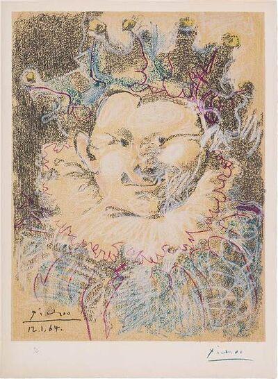 Pablo Picasso, 'Tête De Bouffon', 1964