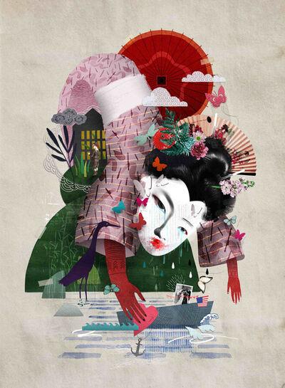 Caitlin Truman - Baker, 'madame butterfly', 2017