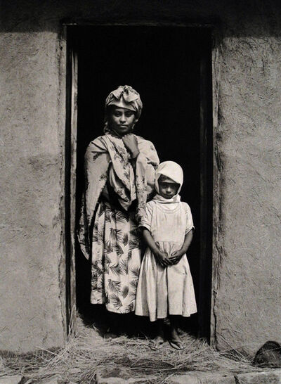 Chester Higgins, Jr., 'Highland Homes are Mostly Constructed from Mud and Straw (Ethiopia)', 1992 -printed 2006
