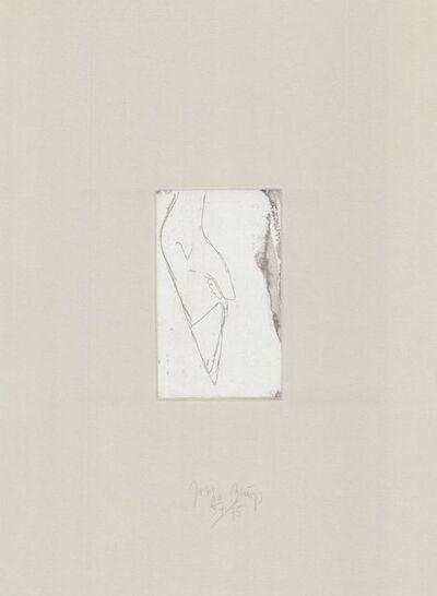 Joseph Beuys, 'Tränen: Hirschfuß', 1980-1990