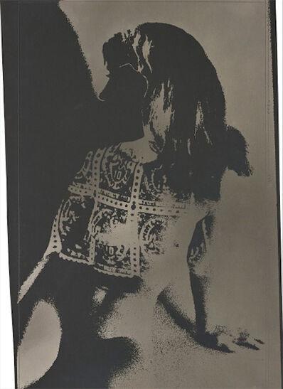 Robert Heinecken, 'Blue Chip Stamp Girl', 1965