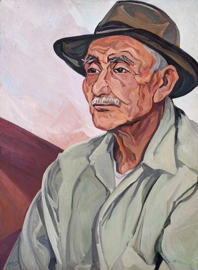 Pablo O'Higgins, 'Retrato de Tío Juan'