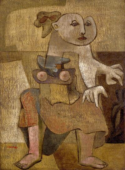 Benjamin Creme, 'The Anchorite', 1943