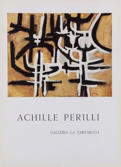 Achille Perilli, 'Solo exhibition', 1957