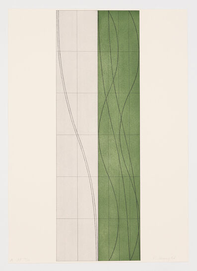 Robert Mangold, 'Double Column A, B & C (suite of 3)', 2006
