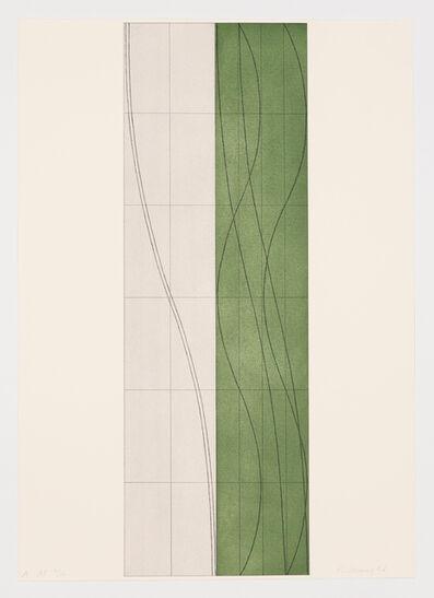 Robert Mangold (b.1937), 'Double Column A, B & C (suite of 3)', 2006