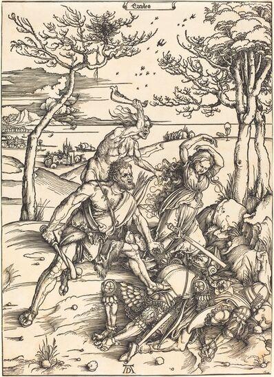 "Albrecht Dürer, 'Hercules Conquering Cacus (""Ercules"")', ca. 1496"