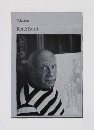 Hugh Mendes, 'Obituary: Rene Burri (Picasso)', 2015