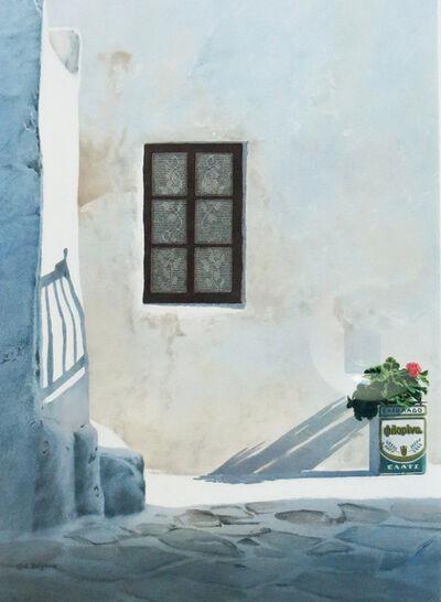 Evelyne Brigeois, 'Behind Paraportiani', ca. 1990