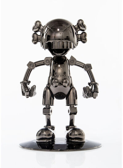 KAWS, 'KAWS x SORAYAMA NO FUTURE COMPANION (BLACK CHROME) ', 2008