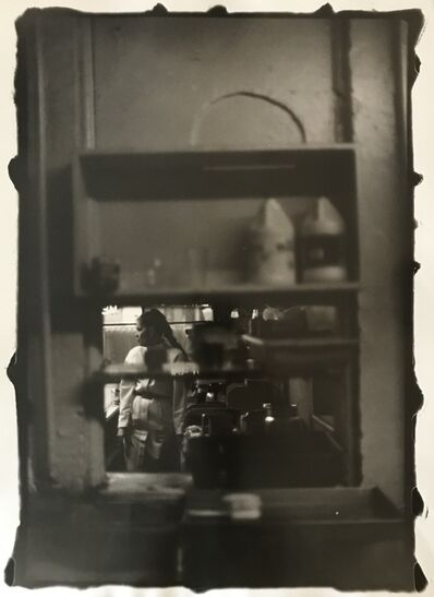 Ming Smith, 'Waitress 1 Through the Serving Window, Pittsburgh, PA,  (August Wilson Series)', 1992