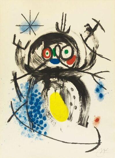 Joan Miró, 'L'automobiliste à moustache ', 1970