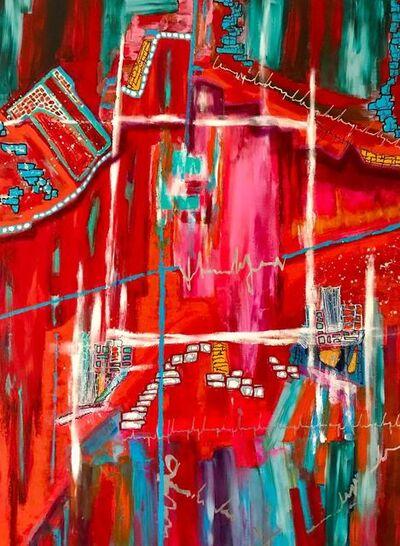 Mireille Lopez, 'La tête à l'envers', 2018