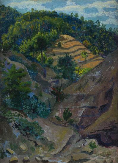 Gerardo Dottori, 'Umbrian landscape'