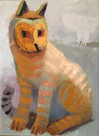 Jonathan Sobol, 'Cat Masquerading as an Owl', 2018