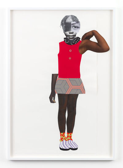 Deborah Roberts, 'At any cost', 2019