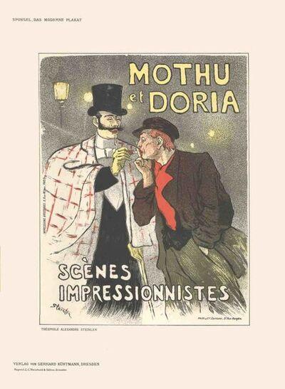 Théophile Alexandre Steinlen, 'Theophile Alexandre Steinlen - Mothu et Doria - 1897', 1897