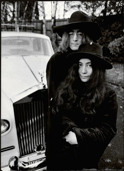 Ray Green, 'John Lennon and Yoko Ono', 1970s