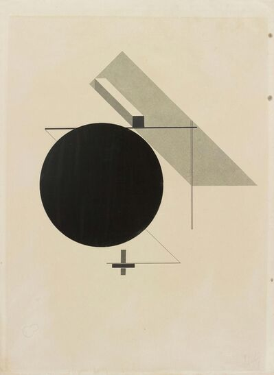 "El Lissitzky, 'Untitled From: ""Proun""', 1919-1923"