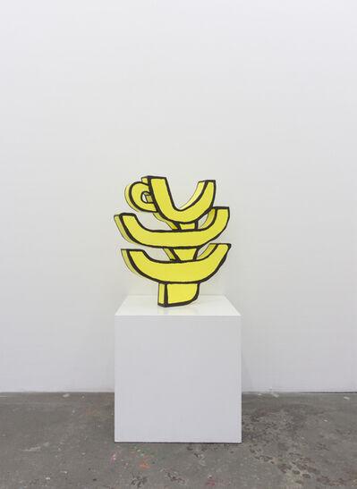 Soeren Behncke, 'Alphabet - Stack ', 2018