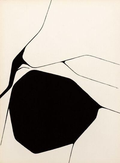 Pablo Palazuelo, 'Derrière le Miroir - Palazuelo, No. 137', 1963