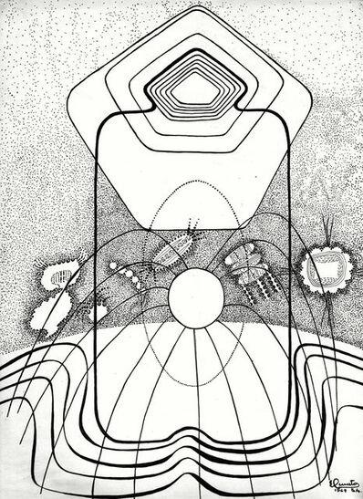 Elda Cerrato, 'Desde la serie del Ser Beta aislado. Maternidad', 1968