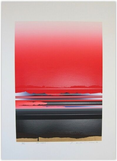 Tetsuro Sawada, 'Red Space', 1987